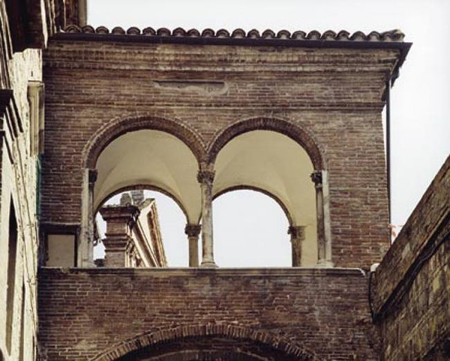 Loggetta aerea di Palazzo Ottoni
