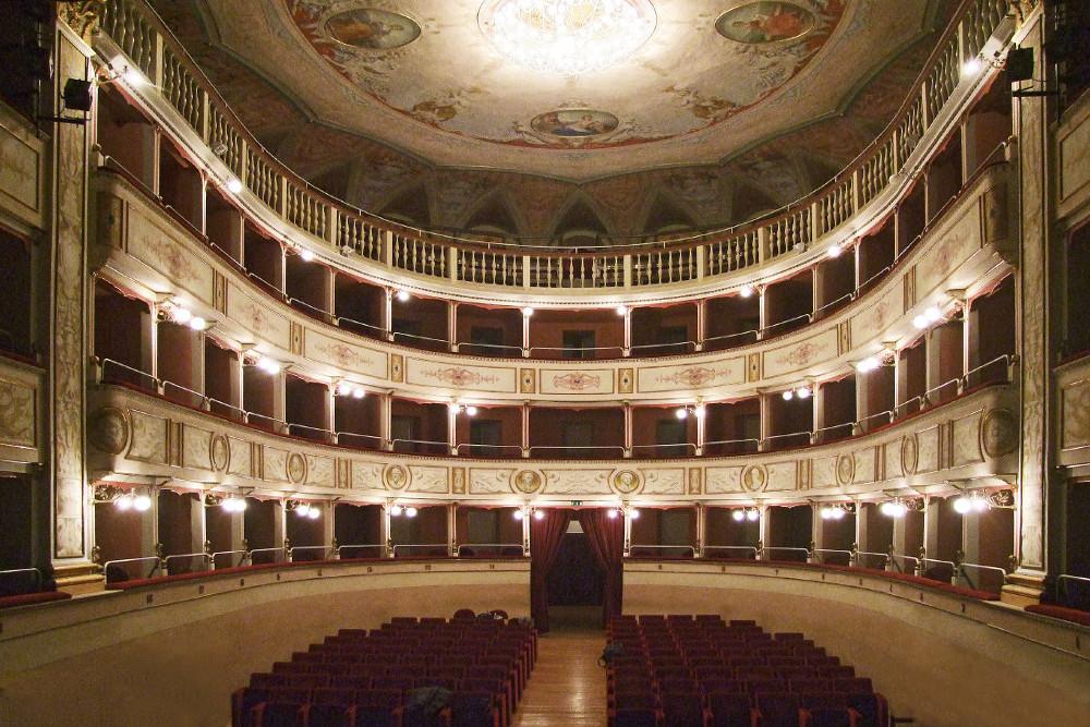 """Il Teatro Comunale """"G. Piermarini"""""""